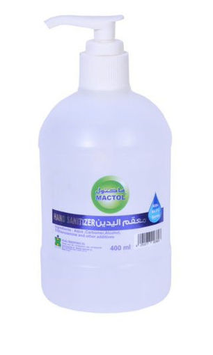 Picture of Mactol Hand Sanitizer - 400 ml