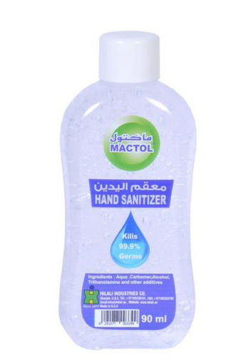 Picture of Mactol Hand Sanitizer - 90ml