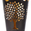 Picture of Min Ayn Metal Candle Holder Black Gold
