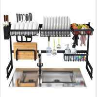 Picture of Champion 8 Over the Sink Stainless Steel Dish Drainer & Dryer Rack