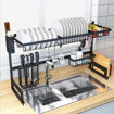 Champion 8 Over the Sink Stainless Steel Dish Drainer & Dryer Rack Online Shopping