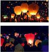 Sky Lantern Assorted - Set Of 10 Online Shopping