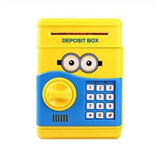 Picture of Minions Money Deposit Box - Yellow