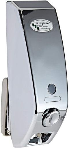 Picture of The Organizer Plastic Manual Soap Dispenser - Silver