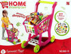 Picture of Home Supermarket Shopping Cart Play Set