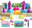 2000 Grams Magical Play Sand Toy Set With Accessories- Modeling Clay Online Shopping