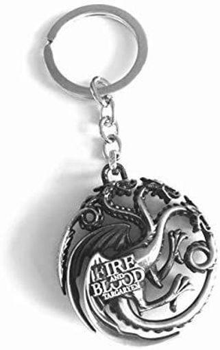 Game Of Thrones Targayen Dragons Keychain Online Shopping