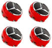 Picture of Mercedes-Benz Center Wheel Caps 4Pcs., Red