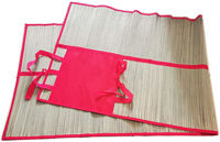 Picture of 180 X 60 Cm Straw And Non Woven Mat, Foldable Beach Mat