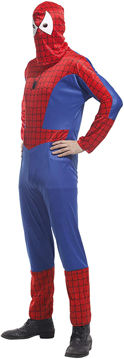 Picture of Men's Spiderman Costume, Free Size