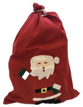Picture of Santa Claus Gift Large Non-Woven Backpack