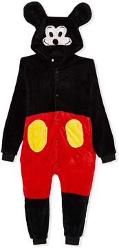 Picture of Unisex Children Onesie Mickey Mouse Costume, 6 -7 Years