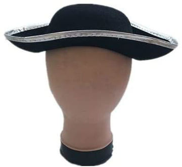 Picture of Cosplay Party Accessories Pirates Hat, 5-8 Years , Black