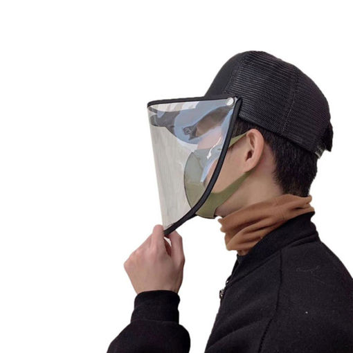 Picture of Transparent Pvc Protective Hat