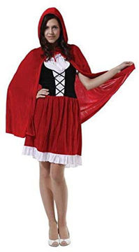Picture of Women Halloween Dress Little Red Riding Hood Costume