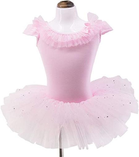 Picture of Girls Ballerina Ballet Dress Tutu Dress