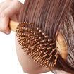 Picture of Wet Hair Brush Bamboo Detangling Brush Natural Wooden Paddle Organic