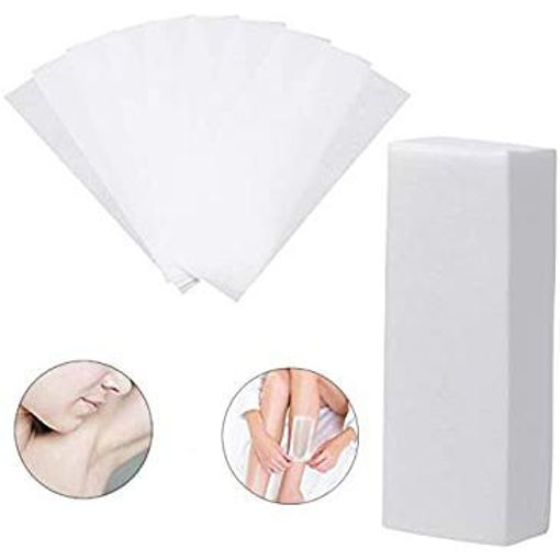 Picture of Best Deal New Hair Removal Stencil Depilatory Nonwoven Epilator 100 Pc