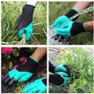 Picture of 1 Pair Garden Gloves With Fingertips Claws, Safe Gardening Tool
