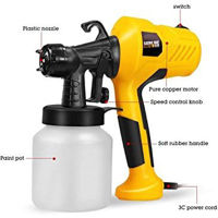 Picture of 220V 400W Airbrush Electric Paint Sprayer, Yellow