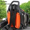 Portable Backpack Blower Mist Sprayer, Orange Online Shopping