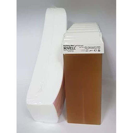 Novell Honey Depilatory Wax Refill 100Ml 6 Tube Refill -Wax Strips 100 Online Shopping
