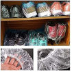 Disposable Shower Caps, Sopito 100 Pcs Plastic Waterproof Online Shopping