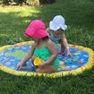 "Sprinkler Pad Splash Pad, 39"" Outdoor Inflatable Sprinkler Toy Online Shopping"