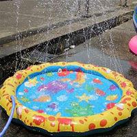 "Picture of Sprinkler Pad Splash Pad, 39"" Outdoor Inflatable Sprinkler Toy"