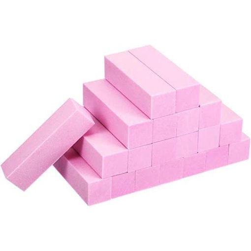 Picture of 20 Pack Buffer Sanding Block Nail Buffer Block Files Grit Dense Sponge