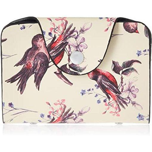 Picture of Bird Design Card Organiser Bag