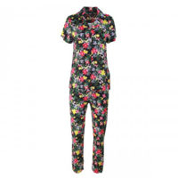 Picture of Joanna Button Down All Over Floral Print Women's Pajama Set