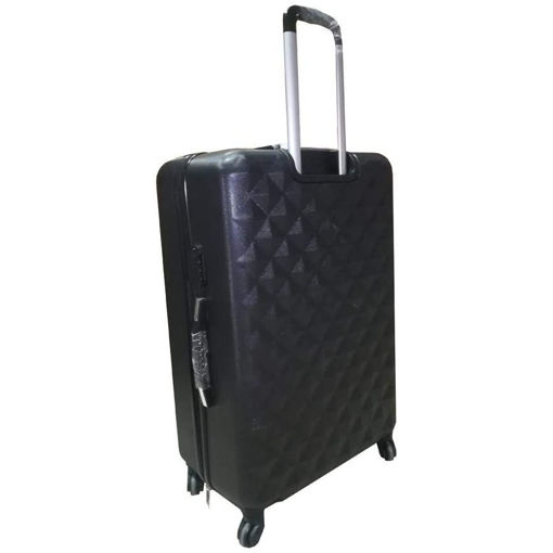 Picture of Luggage Trolley Set With Beauty Case Black - 4 Pieces