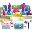 Picture of J%J Magical Play Sand Toy Set With Accessories Pink