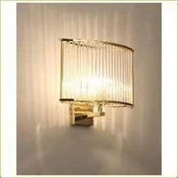 Picture of Target Gold Crystal Wall Lamp By2818- 250*H360Mm