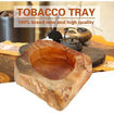 Wooden Round Ashtray,Round Wooden Ashtray Smoking Tray Online Shopping
