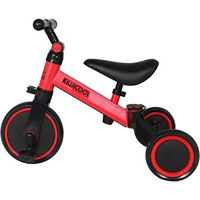 Picture of Kiwicool 3 In 1 Kids Tricycles For 1.5 - 4 Years Old Kids, Red