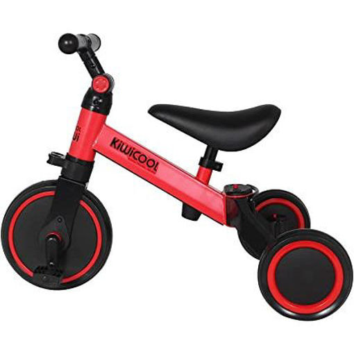 Kiwicool 3 In 1 Kids Tricycles For 1.5 - 4 Years Old Kids, Red Online Shopping