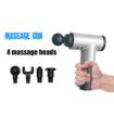 Fascial Gun KH-320 Muscle Massager, Black Online Shopping