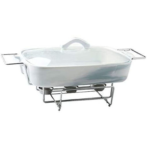 Blackstone Chafing Porcelain Marble Buffet Dishes Online Shopping