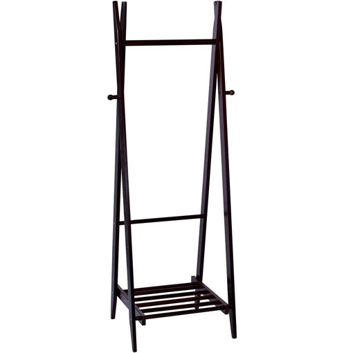 Picture of Yatai Freestanding Folding Towel Stand With Bottom Shelf