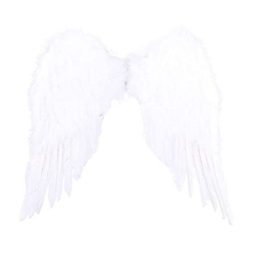 Picture of Angel And Devil Wings Halloween Girl Costume Props - White
