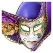 Daweigao Pirate Mask - B207, Purple And Green Online Shopping