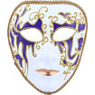 Daweigao Party Mask - M4100, Purple And White Online Shopping