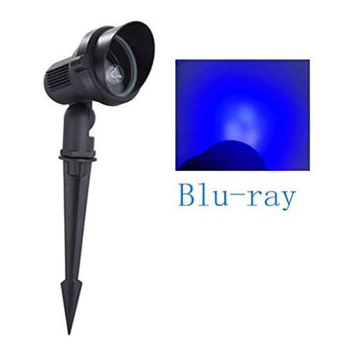 Picture of LED Lawn Lamp Garden Outdoor Spot Light with Cap Blu-ray - 3W