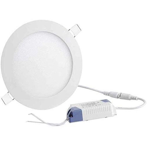 Picture of LED Light Round Panel Light White 6500K, 18W