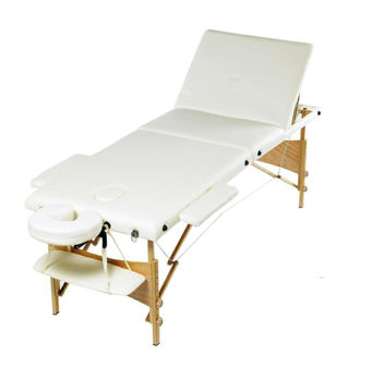 Picture of Medi beauty Foldable Massage Bed - Cream