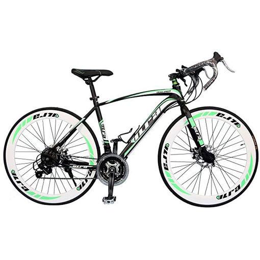 VLRA Bike Marathon Road Bicycle, 27 Inch - Black & Green Online Shopping