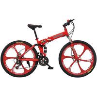 Picture of Land Rover Mountain Bike, Red & Black, 26 Inch
