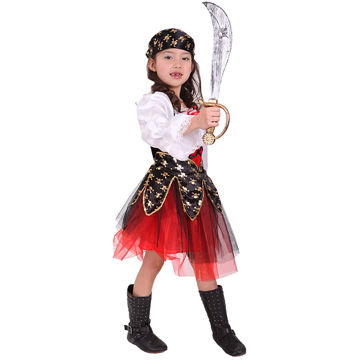 Picture of Girl's Red Riding Hood Costume, BG0130